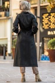 Neva Style - Cepli Siyah Tesettür Kap 55740S - Thumbnail