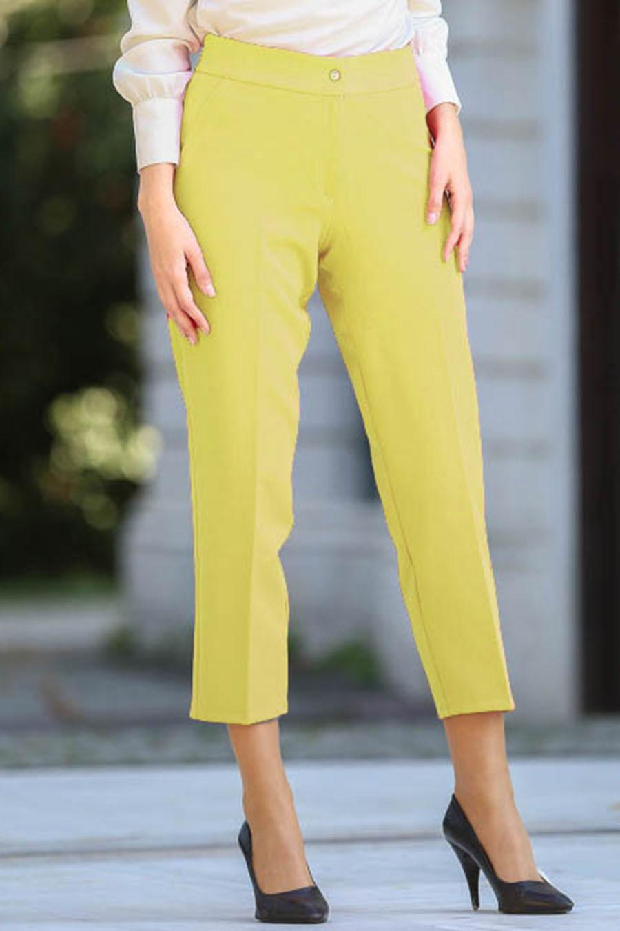 S-VUP - Sarı Tesettür Pantolon 5524SR